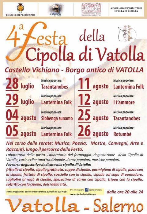 4° Festa della cipolla di Vatolla 2017